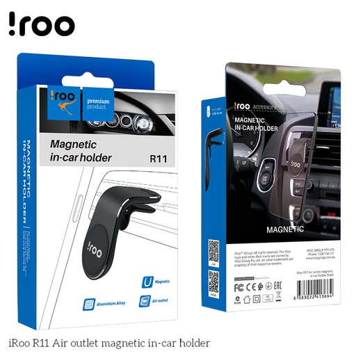 [R11] iRoo R11 Air outlet magnetic in-car holder