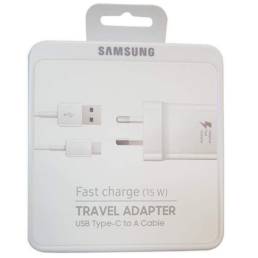 [EP-TA20] Samsung EP-TA20 Fast (15W) Wall Charger /w Type-C Cable